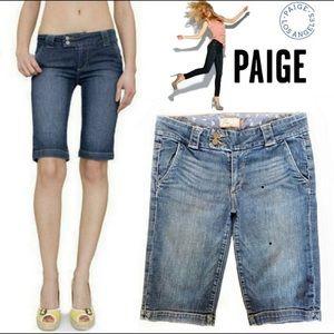 "Paige premium denim Bermuda shorts ""sweetzer""  30"